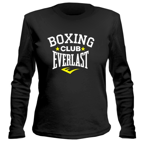 Женский лонгслив Boxing club Everlast