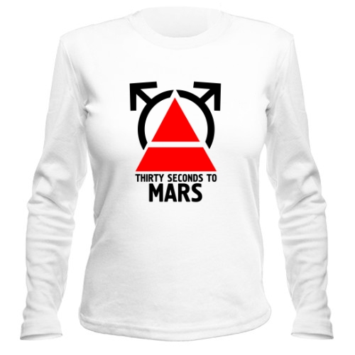 Женский лонгслив 30 seconds to mars